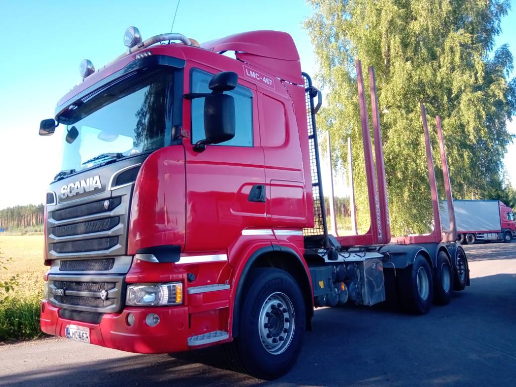 Scania R620 8x4 tridem, puuvarustus,myös alustana, Puuautot, Kuljetuskalusto