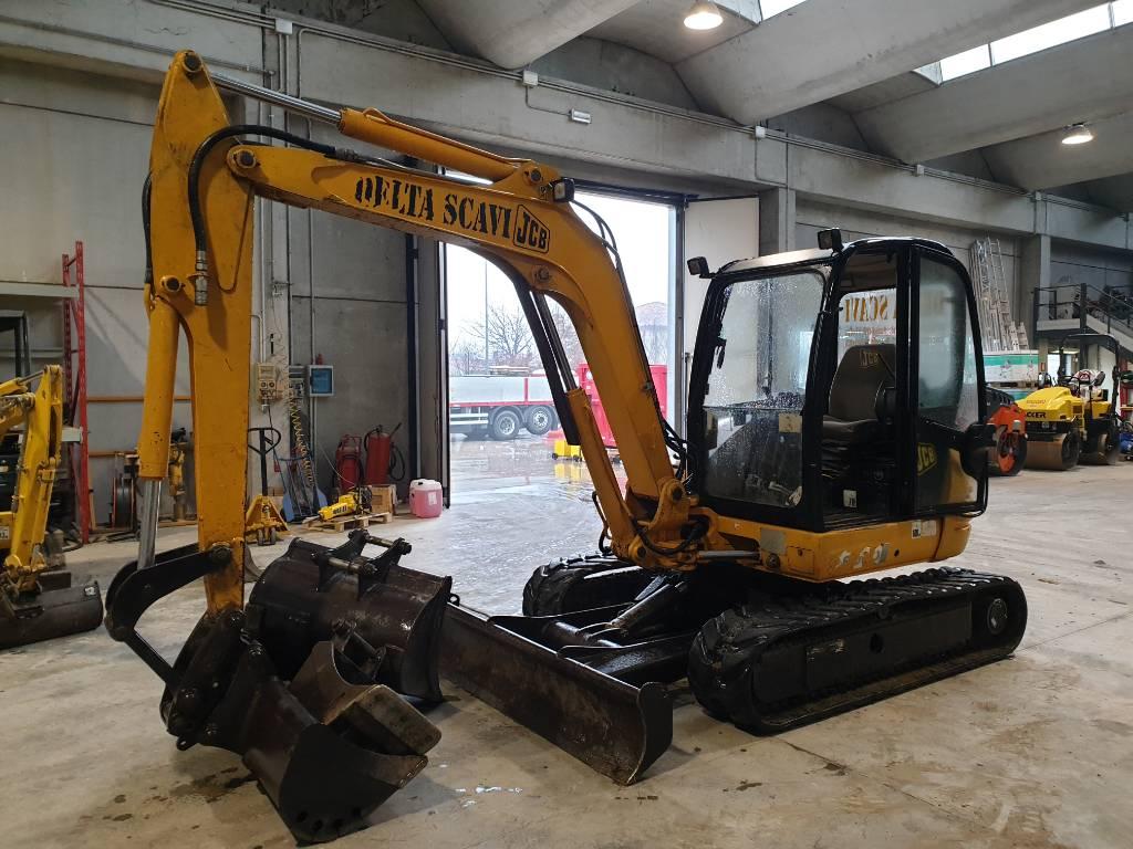 JCB 8060, Mini excavators, Construction Equipment