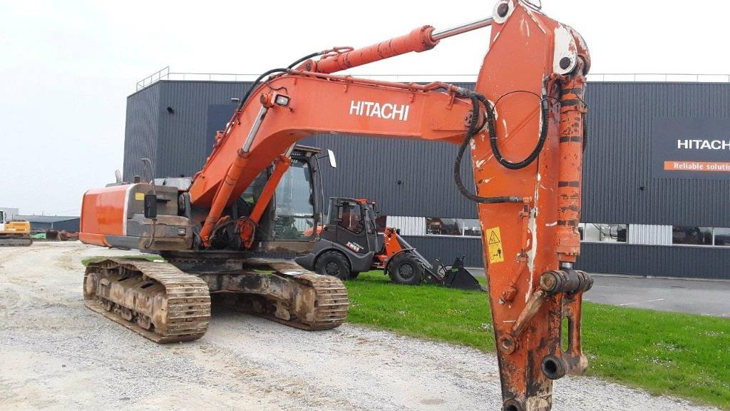 Hitachi ZX 350 LC N-3, Crawler Excavators, Construction Equipment