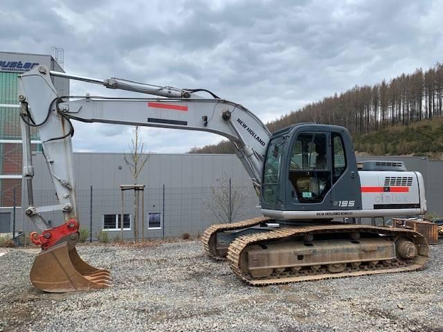 New Holland Kobelco E 195, Crawler Excavators, Construction Equipment