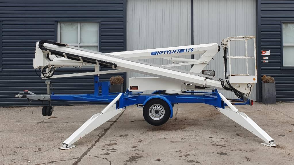 Niftylift 170 HDE, Aanhanger hoogwerkers, Bouw
