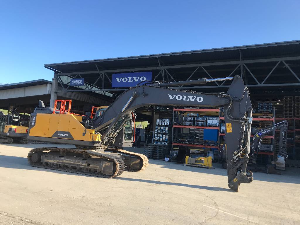 Volvo EC250ENL, Crawler Excavators, Construction Equipment