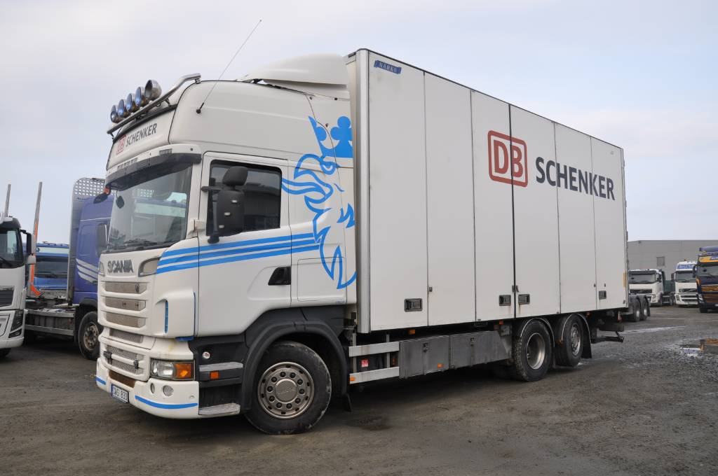 Scania R560  LB6X2*4MNB, Skåpbilar, Transportfordon