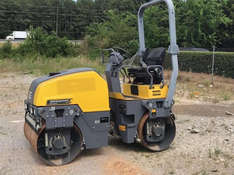 Atlas Copco CC1200 + T41, Twin drum rollers, Construction Equipment