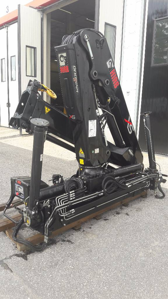 Hiab XS 122 B-1 Duo, Kappaletavaranosturit, Kuljetuskalusto