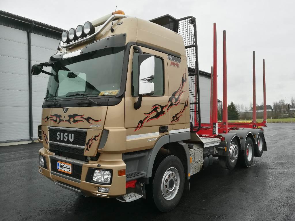 Sisu Polar Fuller DK16M K-AKK, Puuautot, Kuljetuskalusto
