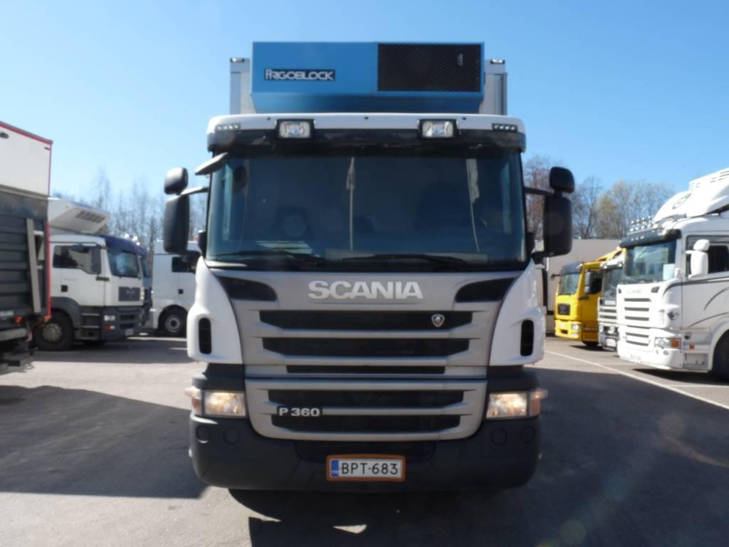Scania P 360 6X2, Kylmä-/Lämpökori kuorma-autot, Kuljetuskalusto