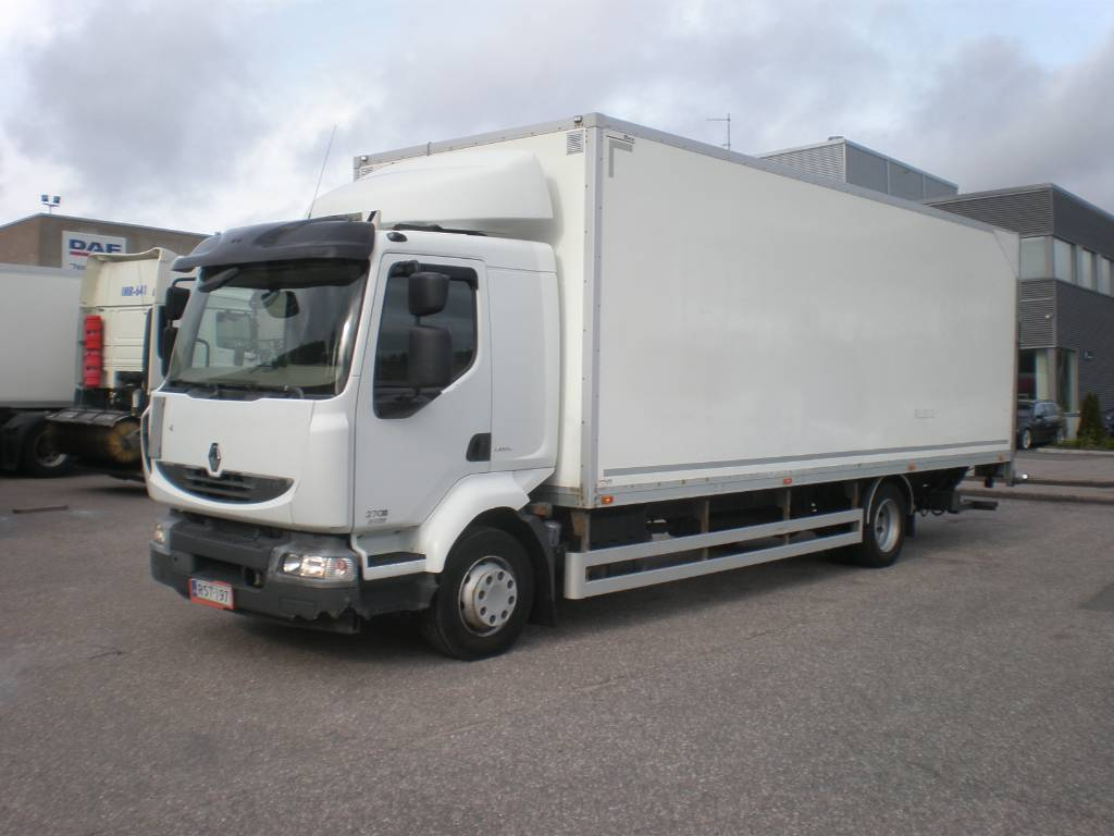 Renault Midlum 270.12 D, Box trucks, Trucks and Trailers