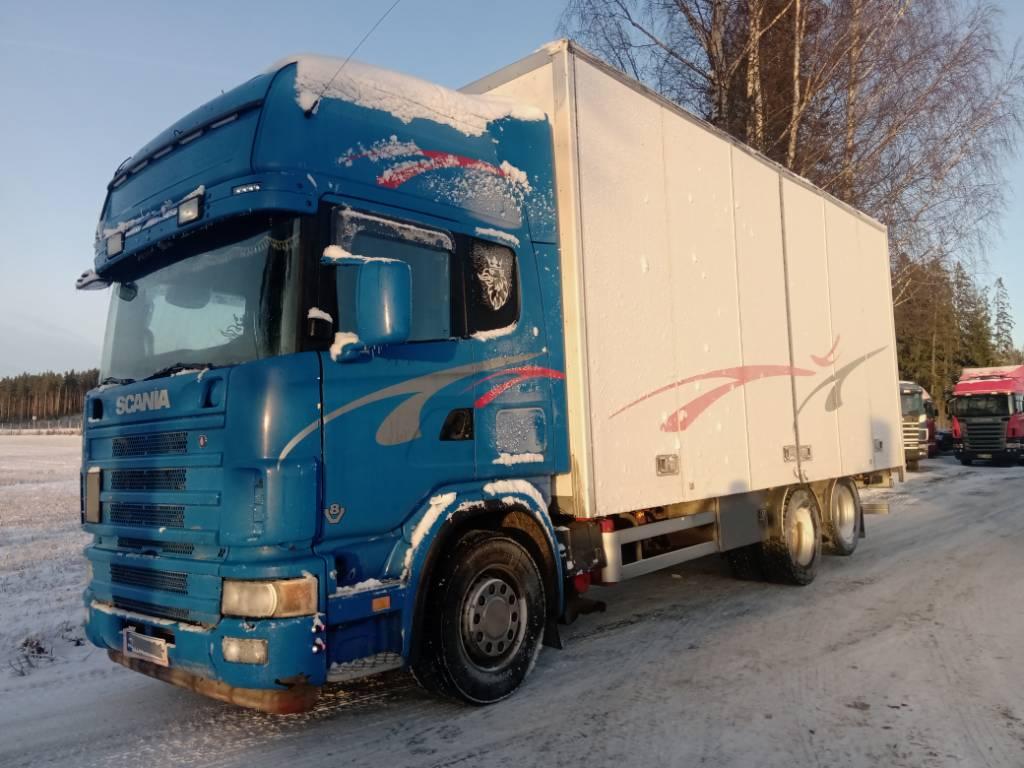 Scania R164 6x2 3,10 Kork sivuauk.kori, Umpikorikuorma-autot, Kuljetuskalusto