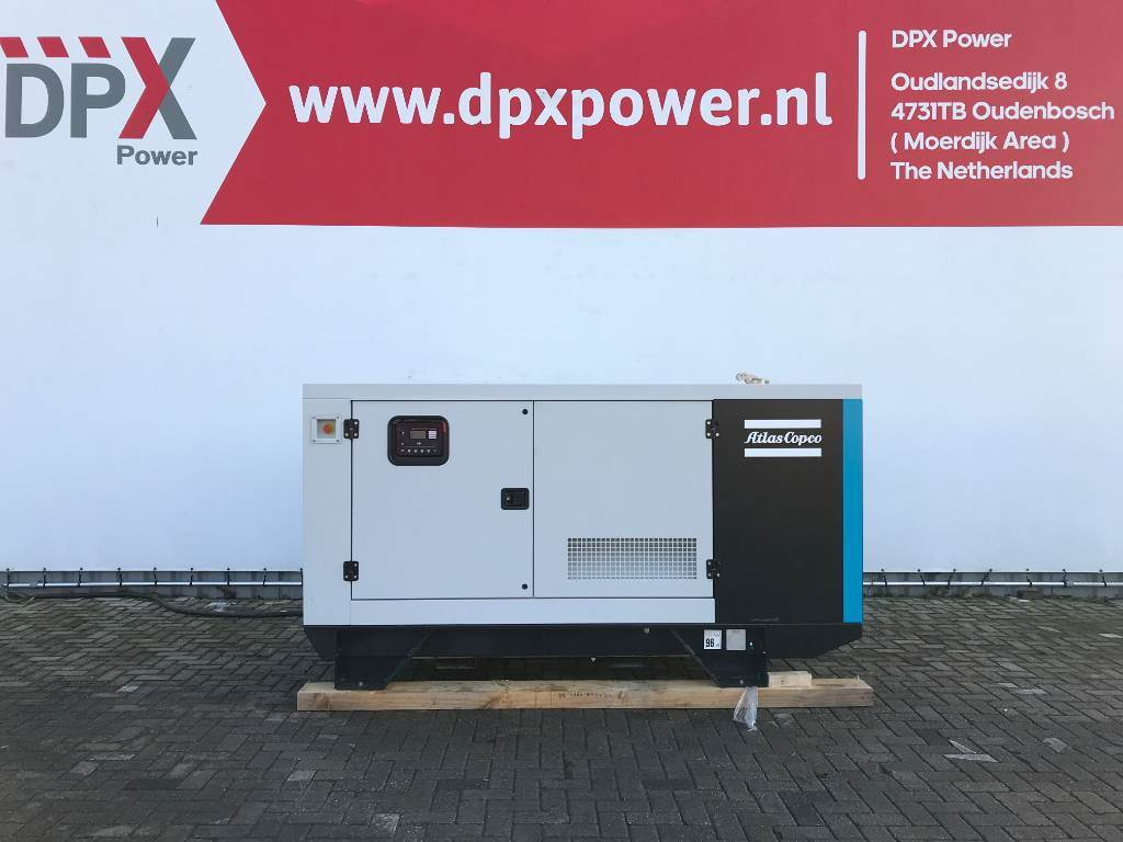 Atlas Copco QIS 110 - 110 kVA Generator - DPX-19407, Diesel generatoren, Bouw