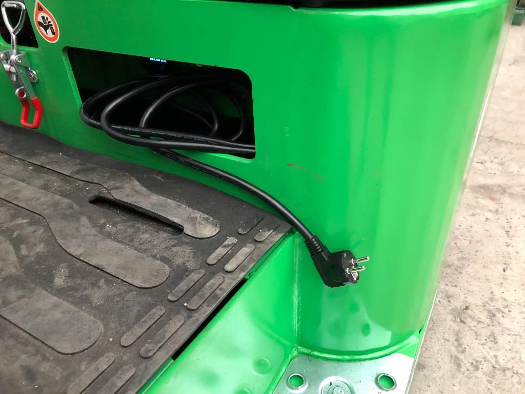 Silverstone EFL 181, Elmotviktstruckar, Materialhantering