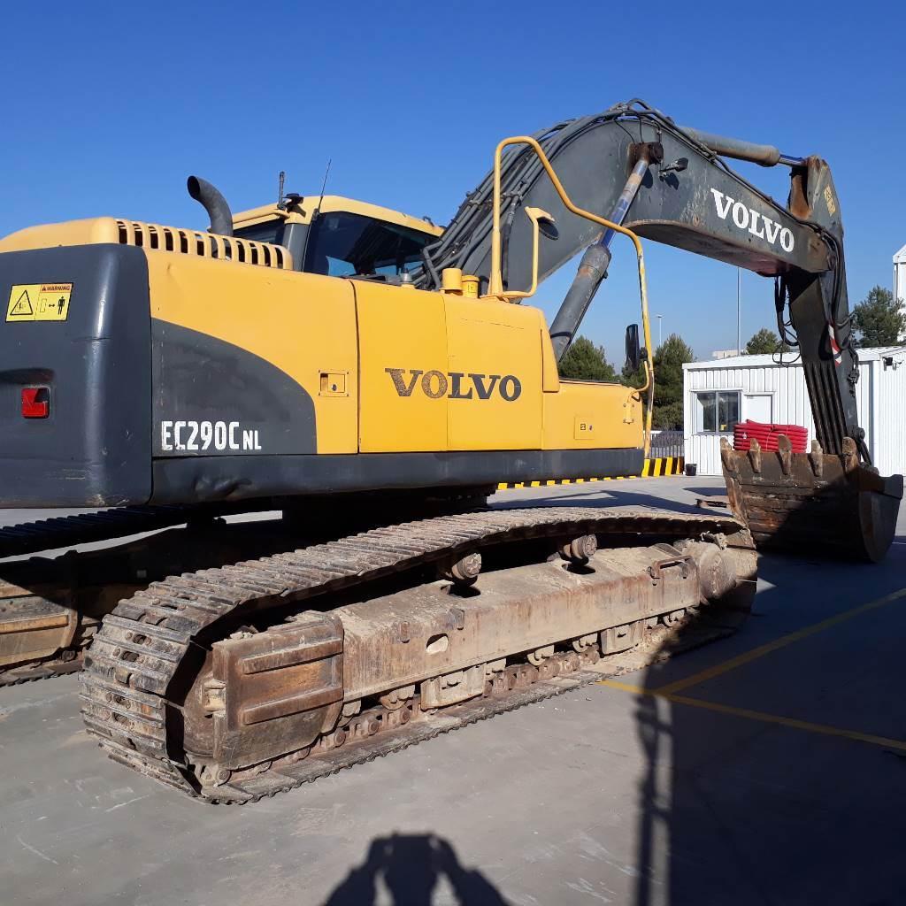 Volvo EC 290 C N L, Crawler Excavators, Construction Equipment