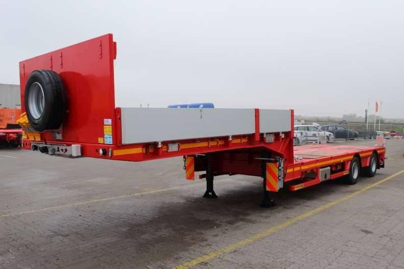 Faymonville S290 2 akslet uttrekktrailer 10.50m + 4,20m, Maskinhenger, Transport