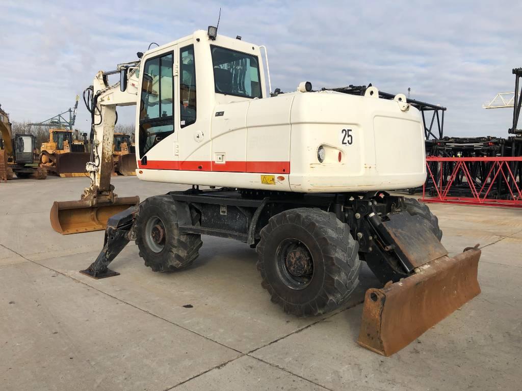 Caterpillar M 313 D (VA-BOOM + various attachments), Wheeled excavators, Construction