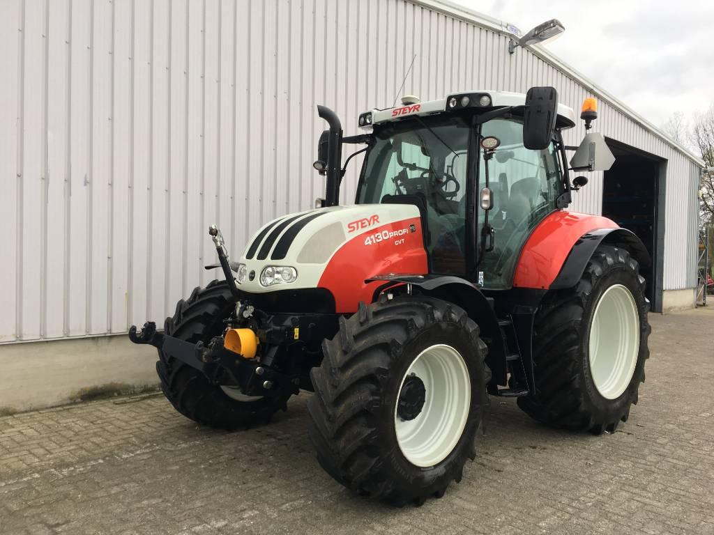 Steyr CVT 4130 PROFI, Tractoren, Landbouw