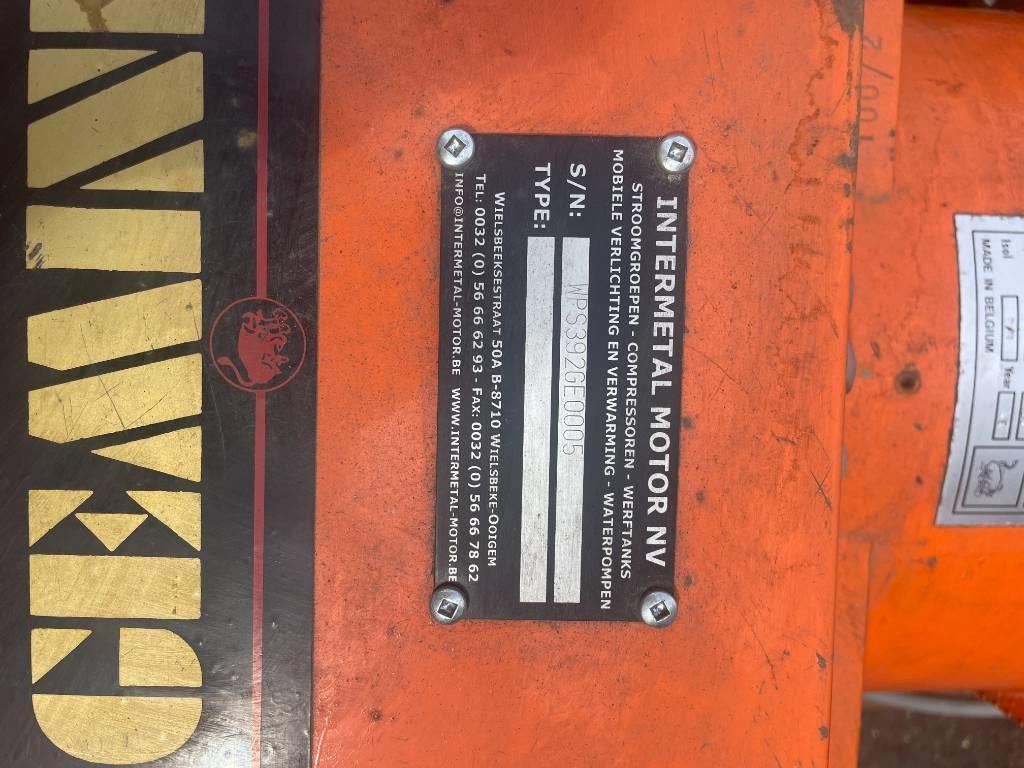 [Other] INTERMETAL MOTOR ACME - GEMINI - 5 KVA, Diesel generatoren, Bouw