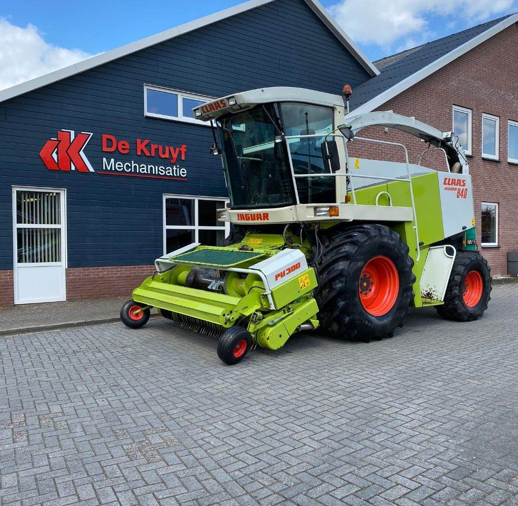 CLAAS jaquar 840, Forage harvesters, Agriculture