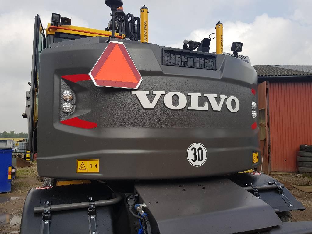 Volvo EWR 150 E, Uthyres, Hjulgrävare, Entreprenad