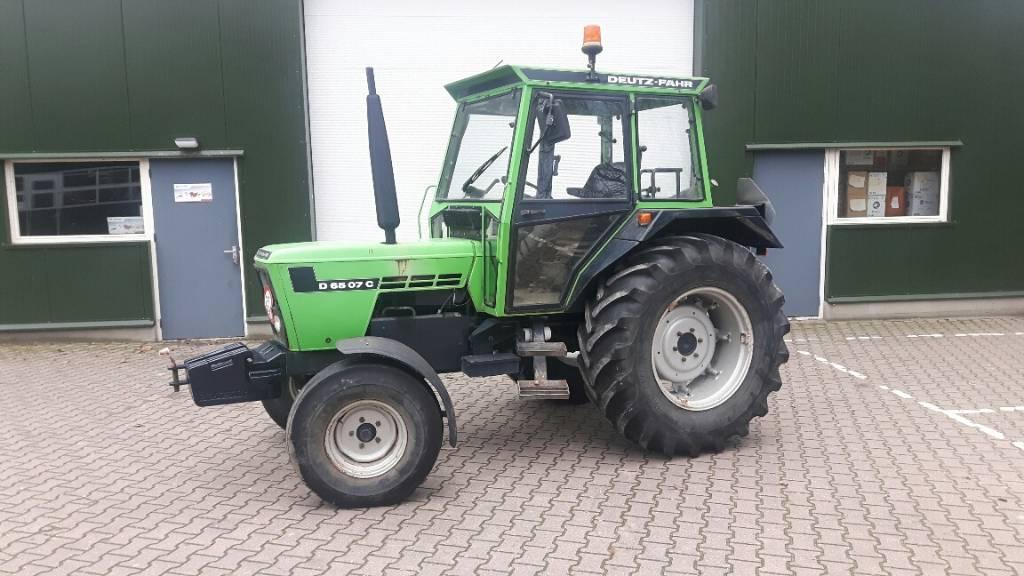 Deutz-Fahr 6507C, Tractoren, Landbouw