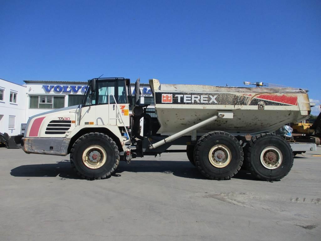 Terex TA30, Articulated Dump Trucks (ADTs), Construction Equipment
