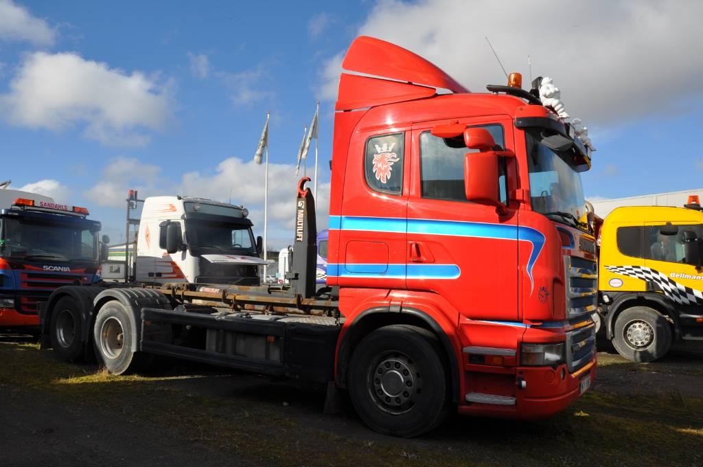 Scania R480 LB 6X2 HHZ, Lastväxlare/Krokbilar, Transportfordon