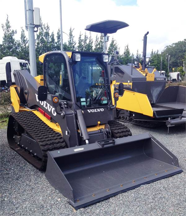Volvo MCT125C, Compact Track/Skid Steer, Construction Equipment