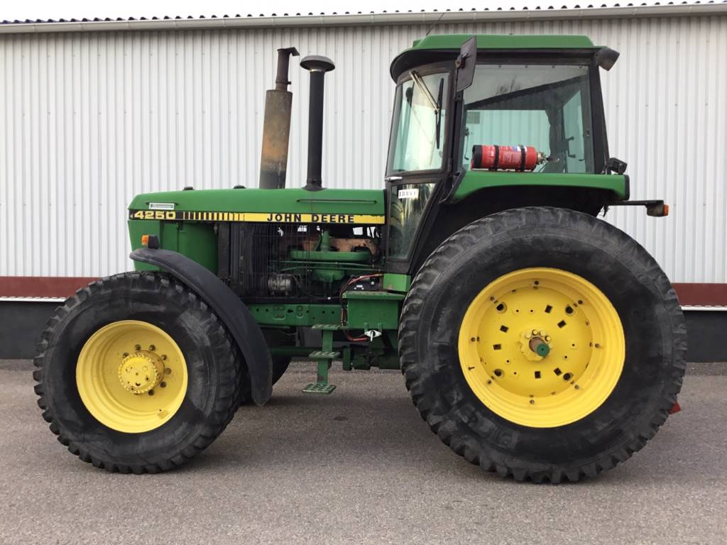 John Deere 4250, Traktorer, Lantbruk
