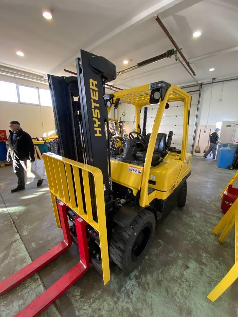 Hyster H 3.5 FT, LPG counterbalance Forklifts, Material Handling