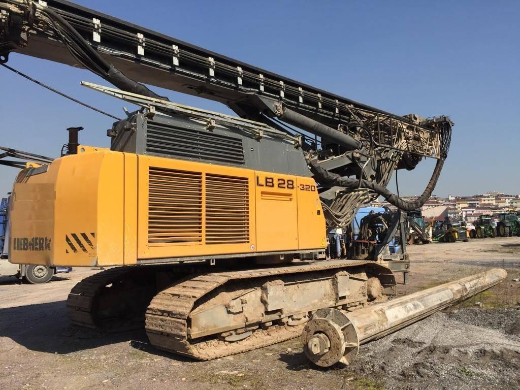Liebherr LB 28-320, Heavy drills, Construction