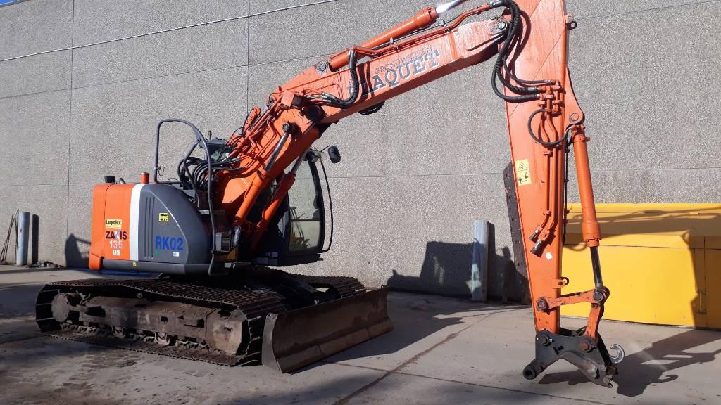 Hitachi ZX 135US-3, Crawler Excavators, Construction Equipment