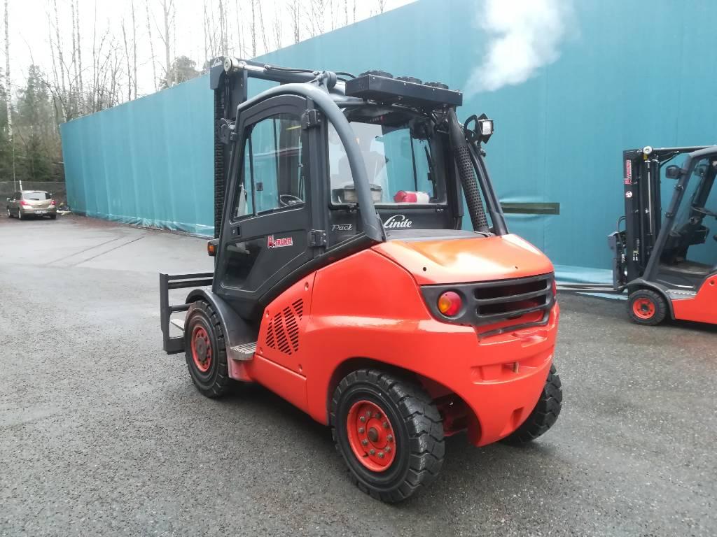 Linde H50D, Dieseltrukit, Materiaalinkäsittely
