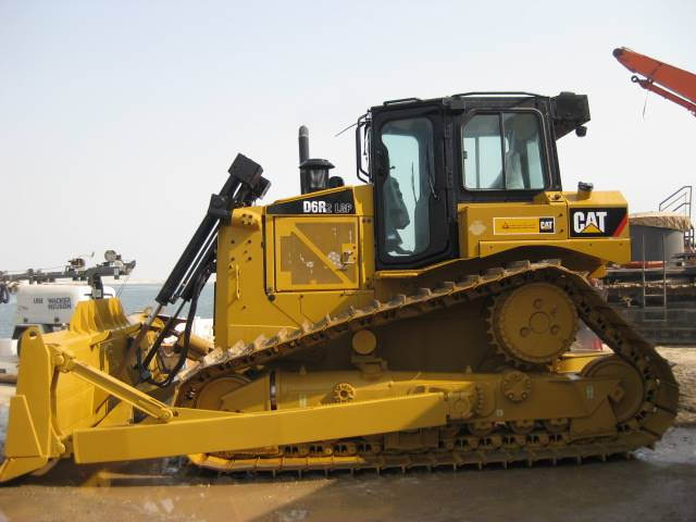 Caterpillar D6R LGP II, Dozers, Construction