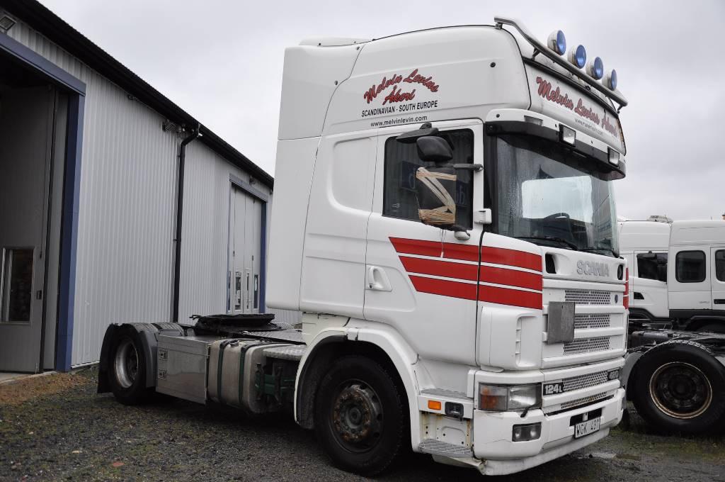 Scania 124 4X2 420, Dragbilar, Transportfordon