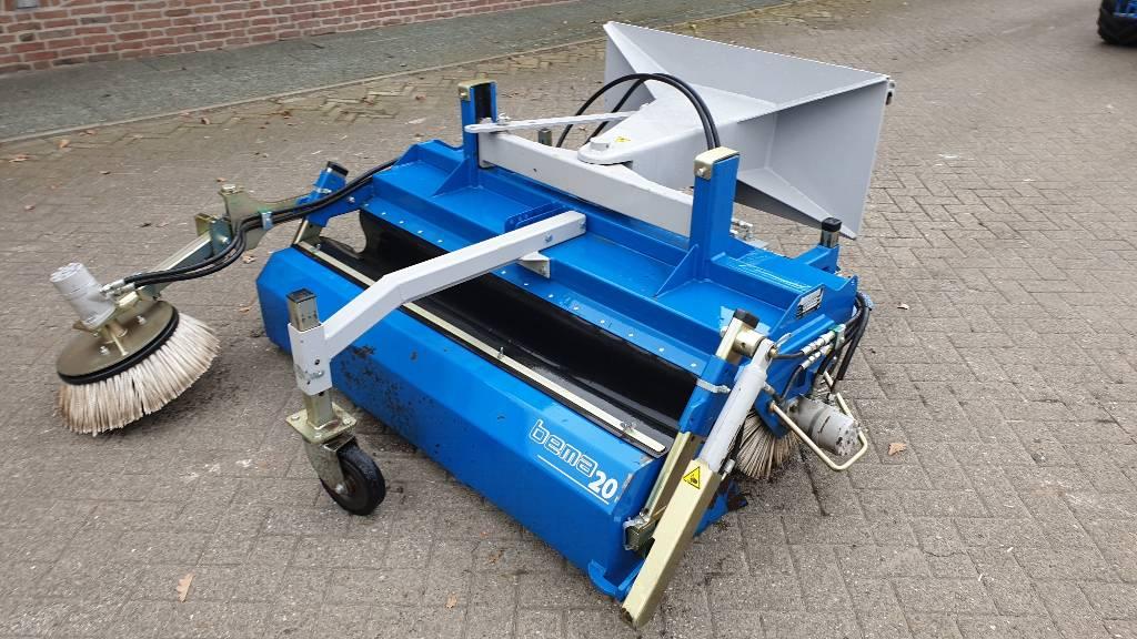 Bema veegbezem 1550, Utility sweeper-scrubbers, Turfcare
