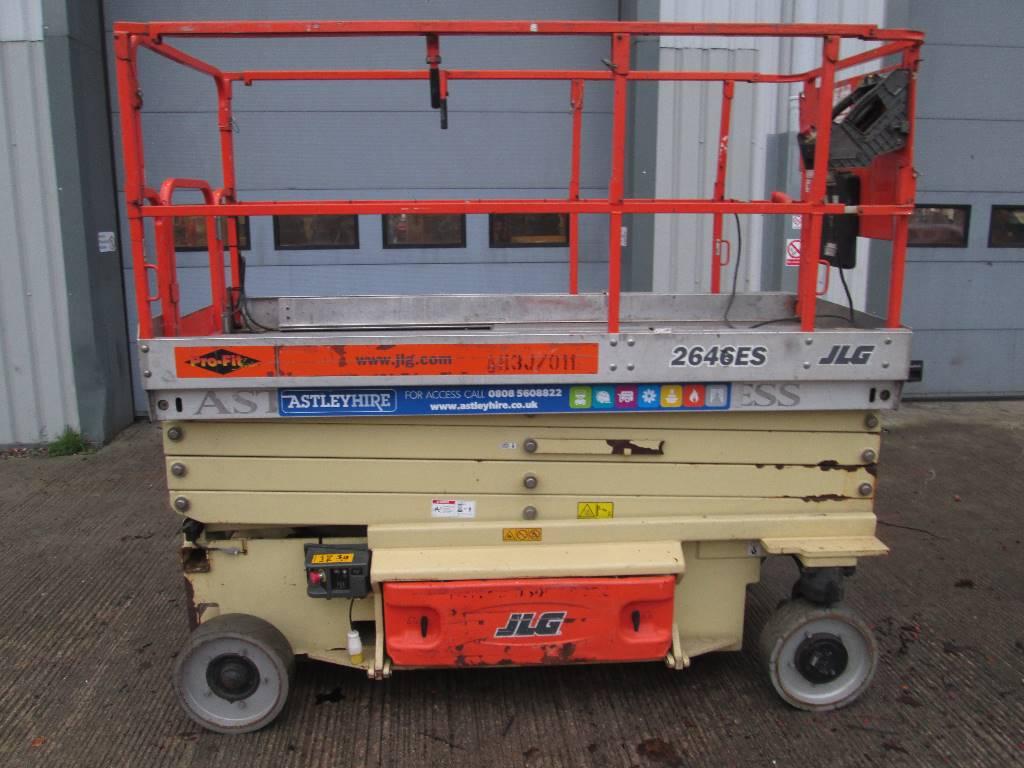 JLG 2646ES, Scissor lifts, Construction