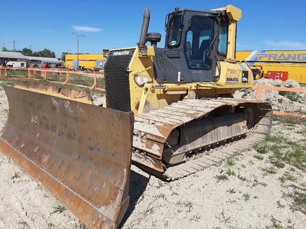 Komatsu D61PX-15, Crawler dozers, Construction Equipment