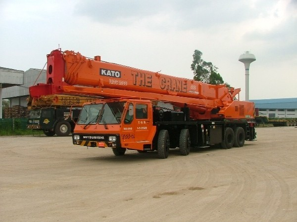 Used Kato NK-550VR all terrain cranes Year: 2006 Price ...