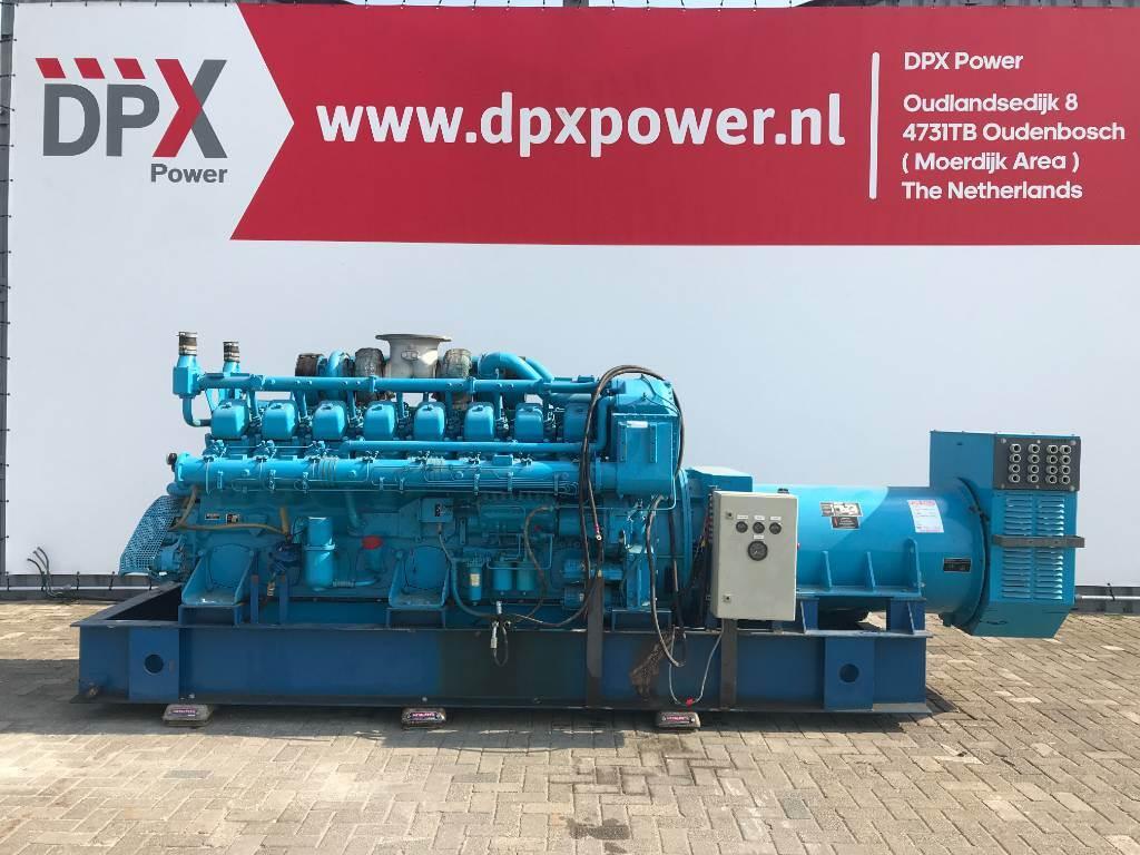 Mitsubishi S16NPTA - 1.000 kVA Generator - DPX-11723, Diesel generatoren, Bouw