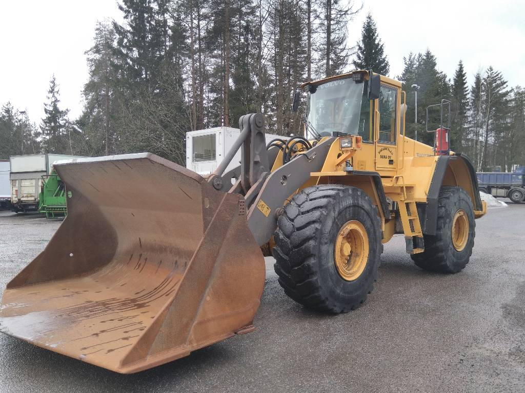 Volvo L150E ASIAKKAAN lukuun, Wheel loaders, Construction
