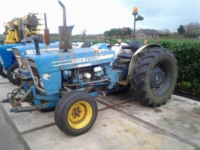 Ford 5600 Tractor Traktor Tracteur, Tractoren, Landbouw