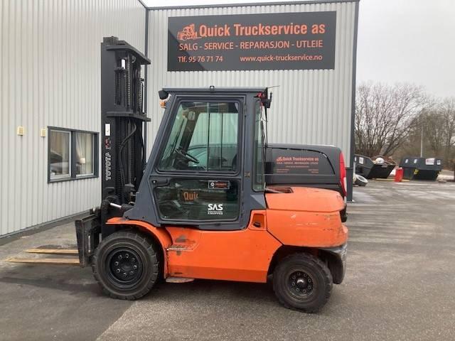 Toyota 02-7 FD 40, Diesel Forklifts, Material Handling