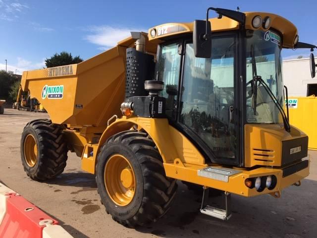 Hydrema 912F Multi Tip, Site dumpers, Construction