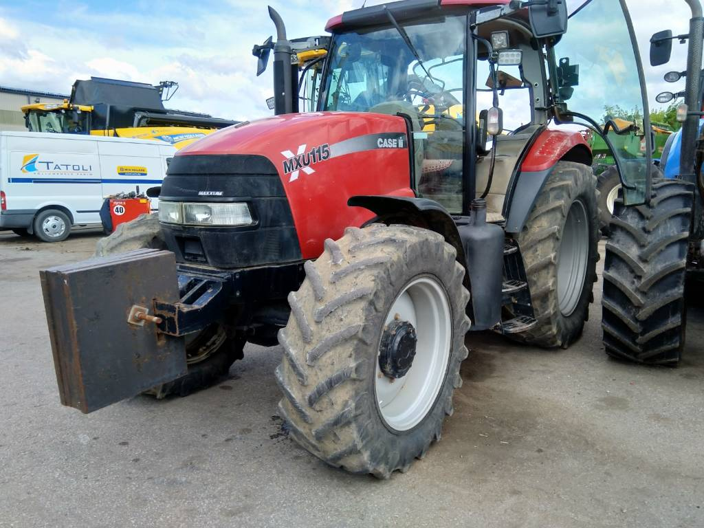 CASE Maxxum115, Traktorid, Põllumajandus