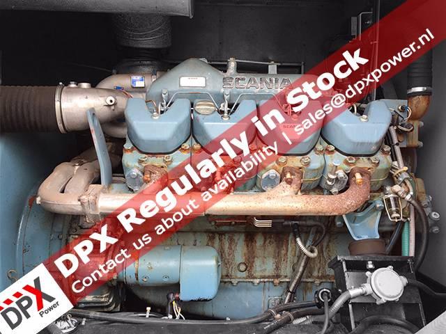 Scania DC14 Generatorset, Diesel generatoren, Bouw