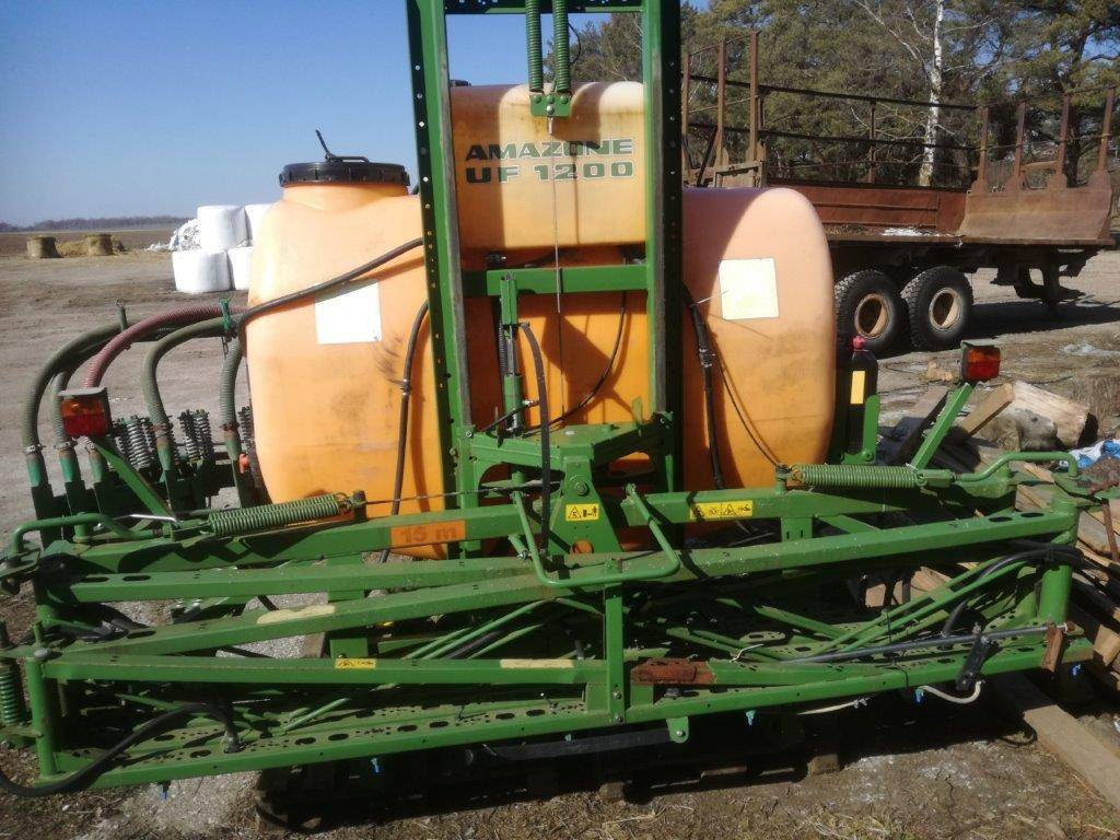 Amazone UF1200 18m, Mounted sprayers, Agriculture