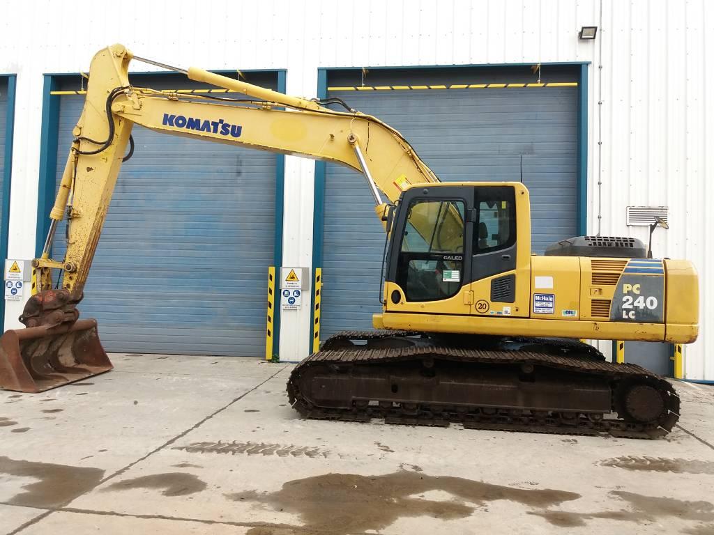 Komatsu PC240LC-8, Crawler Excavators, Construction Equipment