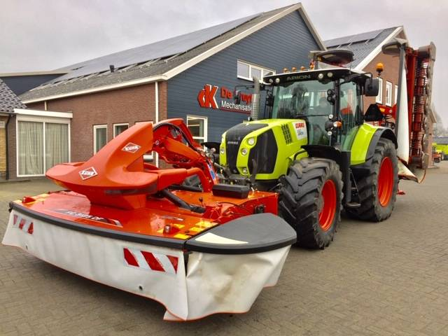 Kuhn FC 8830 D-FF met FC 3125 DF-FF, Mowers, Agriculture