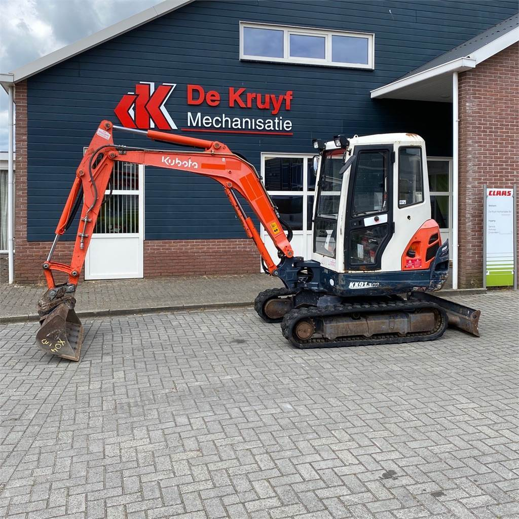 Kubota KX91-3a2, Mini excavators, Construction