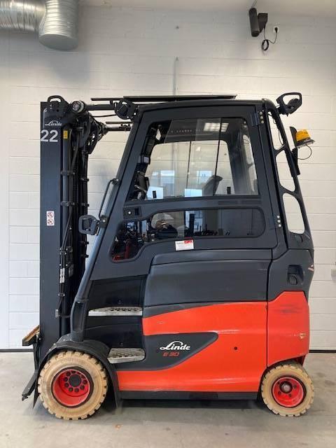 Linde E30/600HL/387, Electric forklift trucks, Material Handling