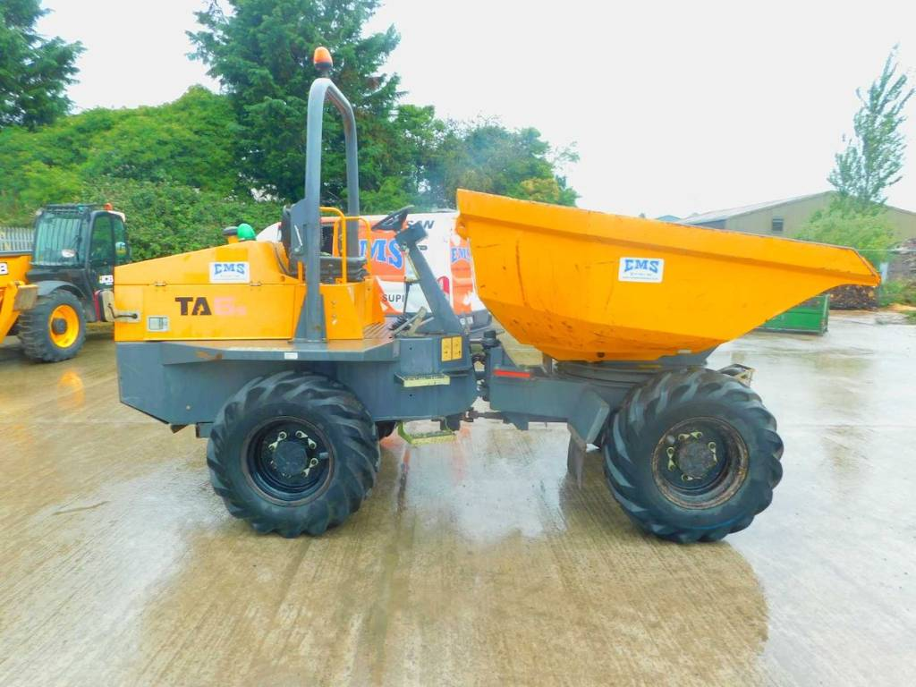 Terex TA6s, Site dumpers, Construction